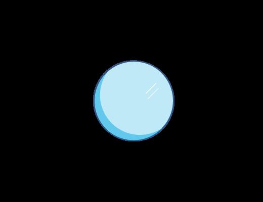 Lente ACUVUE® con tinte azul
