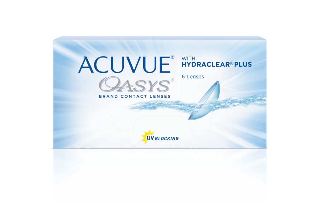 ACUVUE OASYS® con HYDRACLEAR® PLUS