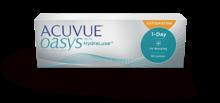 ACUVUE OASYS® 1-DAY con Tecnología HydraLuxe™ para ASTIGMATISMO