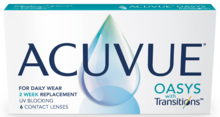 ACUVUE® OASYS con Transitions™
